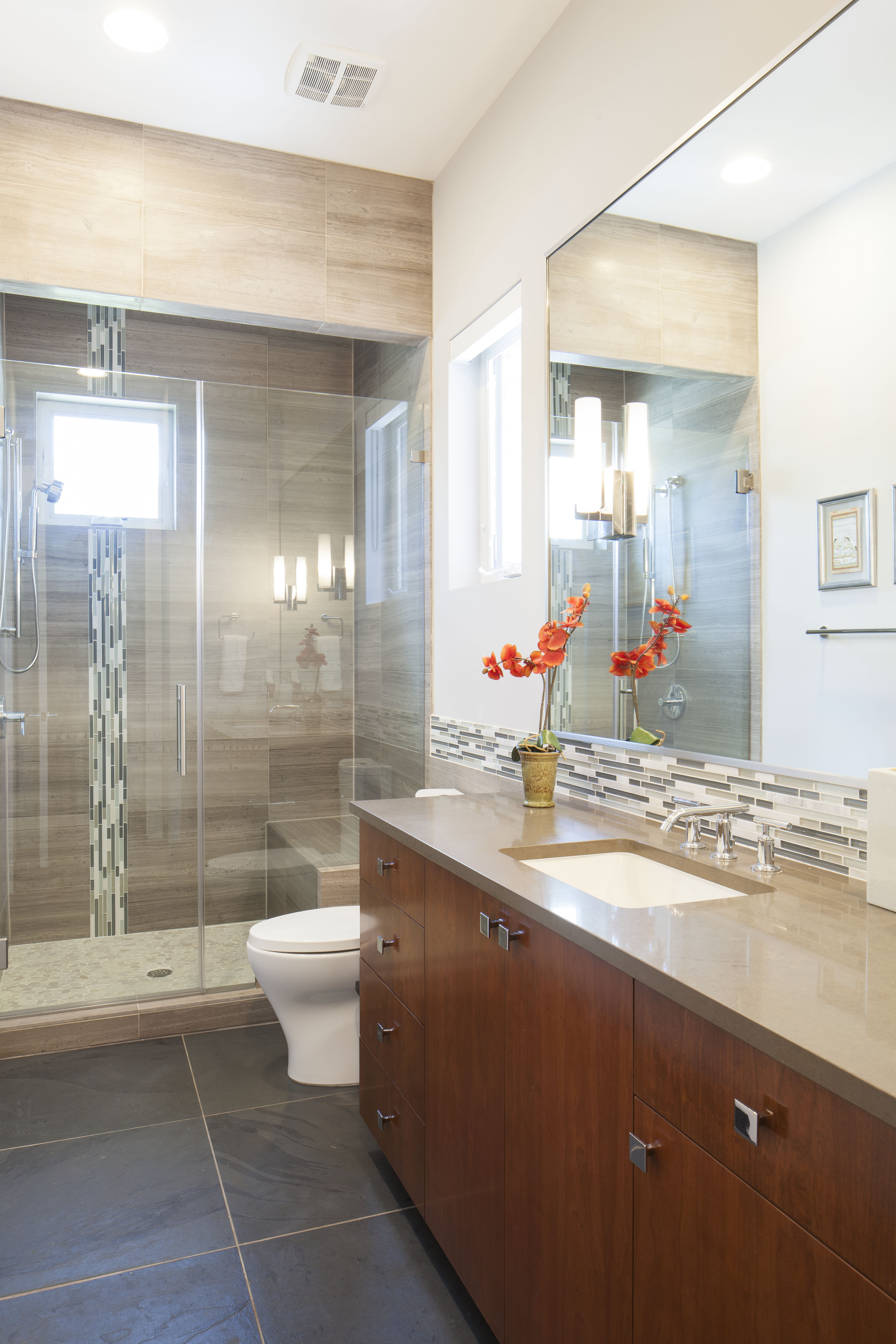 Finished photos steiner ranch residence spaces designed for Bathroom interior design austin tx
