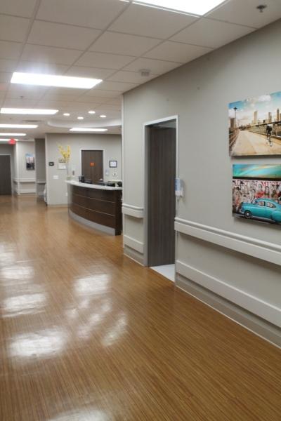 Nurses Station Hallway