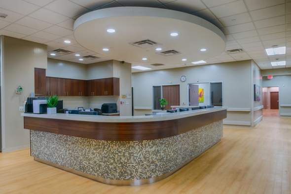 Hospital reception design